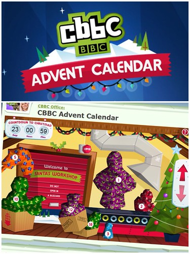 Today is all about...launch of the CBBC advent calendar
