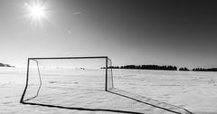 """Das Tor. Die Tore. Seltener: Das Fußballtor. Die Fußballtore. Das Tor im Winter. • <a style=""""font-size:0.8em;"""" href=""""http://www.flickr.com/photos/42554185@N00/27789319696/"""" target=""""_blank"""">View on Flickr</a>"""