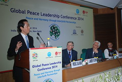Global Peace Leadership Conference India 2014 Aya Goto