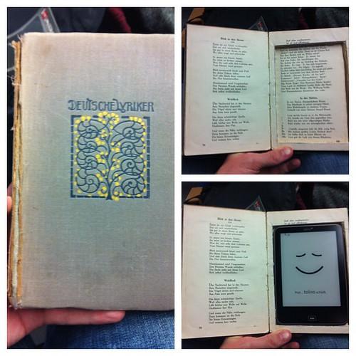 Deutsche Lyriker  #vintage #selfmade eBookReader Hülle