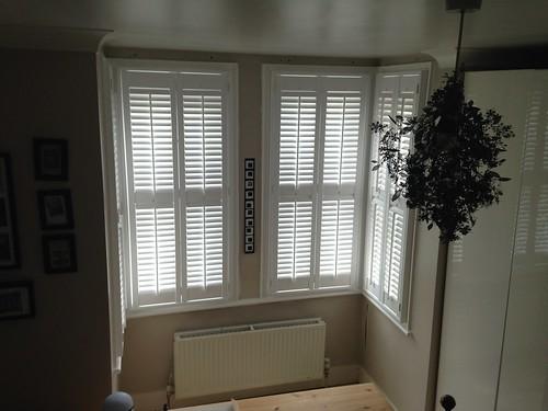 Bay Window Shutters in Braintree Essex