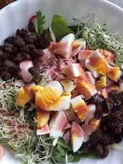 Chef salad #naturallyglutenfree #gf #glutenfree