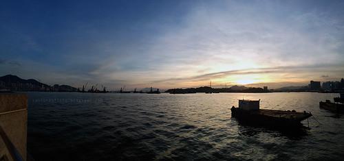 sunset sea panorama cloud landscape dusk cellphone mx3 meizu
