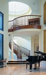 McKenna - Luxury Custom Stairway