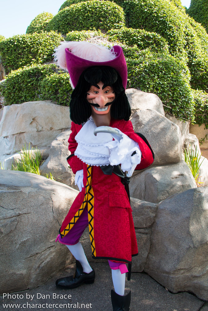Image result for disneyland california captain hook
