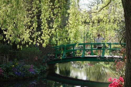 Tout son jardin a en fait inspiré une série de tableaux.