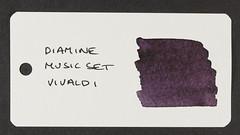Diamine Music Set Vivaldi - Word Card
