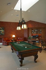 Custom Luxury Home - billard rm 2