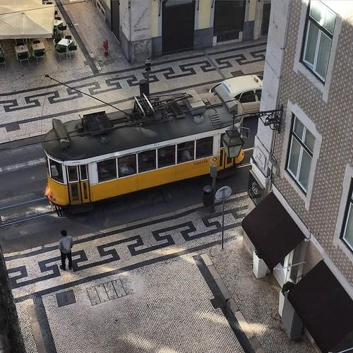 Lisbonne - Tramway jaune