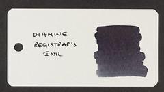 Diamine Registrar's Ink - Word Card