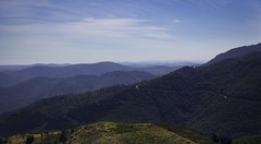 Panoramic view on the Cevennes