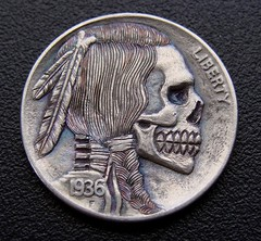 "'Stop All Terror' Hobo nickel • <a style=""font-size:0.8em;"" href=""http://www.flickr.com/photos/72528309@N05/26228380744/"" target=""_blank"">View on Flickr</a>"