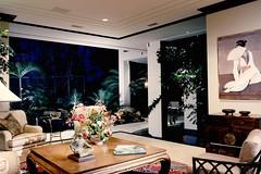 Custom Modern Home Living Room
