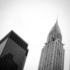 Chrysler rules! #nyc #chrysler #chryslerbuilding #newyork #buildings #skyscraper #rascacielos #arquitectura #edificios #nuevayork