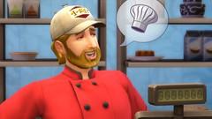 Les Sims 4 au travail boutique