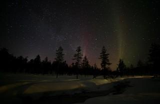 Lucky 4th night - Aurora Borealis