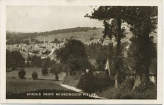 Stroud from Rodborough Fields