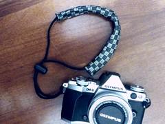 DIY camera hand strap