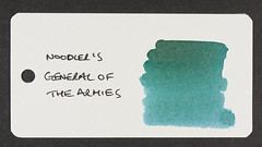Noodler's General of the Armies - Word Card