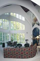 Custom Luxury Home Living space