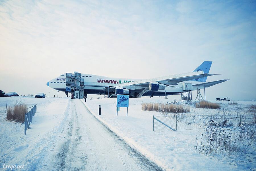 2016.07.08 | 看我歐行腿 | 只載去見周公的飛機,瑞典斯德哥爾摩機場旁的 Jumbo Stay 特色青年旅館04