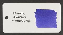 Private Reserve Tanzanite - Word Card