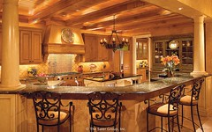 Custom Luxury Home - kitchen