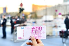 Security for European Central Bank's opening gala