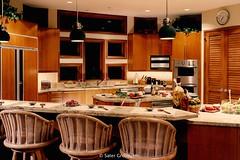 Custom Modern Home Kitchen