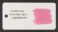 Diamine Flower Set Carnation - Word Card