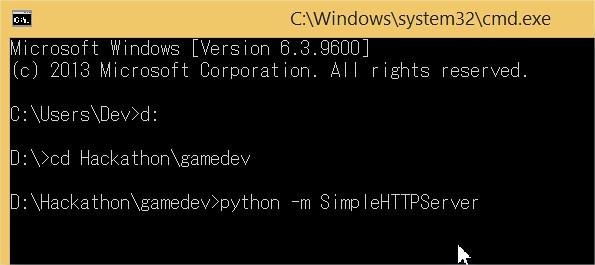 Python Web Server - python -m SimpleHTTPServer