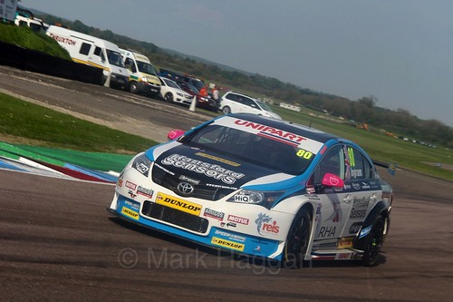 Tom Ingram during the BTCC Weekend at Thruxton, May 2016