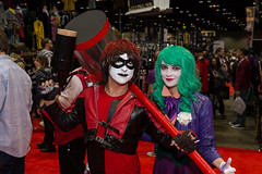 "Reversed Harley and Joker #cosplay #C2E2 2015 • <a style=""font-size:0.8em;"" href=""http://www.flickr.com/photos/33121778@N02/17281727742/"" target=""_blank"">View on Flickr</a>"