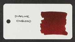 Diamine Oxblood - Word Card