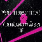 """""""We are the heroes of our time"""". Vi är hjältarna av vår egen tid. Vem är din hjälte? Who is your hero? #heroes #hjältar #stockholm #mystockholm #music #escSE #time #teacher #school #skola #lärare #skolan först #future <a style=""""margin-left:10px; font-size:0.8em;"""" href=""""http://www.flickr.com/photos/131645797@N05/18124106045/"""" target=""""_blank"""">@flickr</a>"""