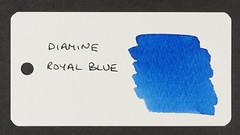 Diamine Royal Blue - Word Card