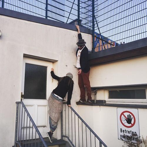 Betreten verboten!  Auf den Dächern von #Berlin