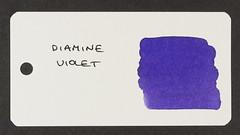 Diamine Violet - Word Card