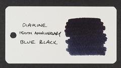 Diamine 150th Anniversary 1864 Blue Black - Word Card