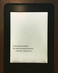 Epigraph from Freakcidents -- screen test from kindle ebook edition of this Stoker Award winner in production