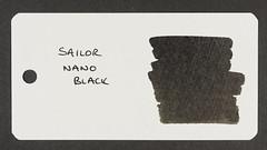 Sailor Nano Black - Word Card