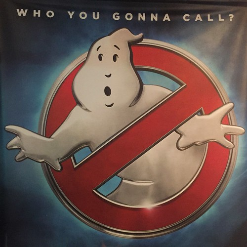 Today is all about...Who you gonna call