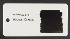 Noodler's Polar Black - Word Card