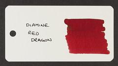 Diamine Red Dragon - Word Card