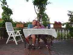 2011 05 19 Montepulciano - vino nobile on the terrace