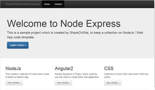 Node Express By ShareChiWai