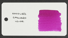 Noodler's Saguaro Wine - Word Card