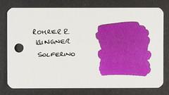 Rohrer & Klingner Solferino - Word Card