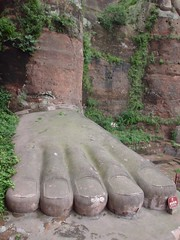 Now that's a big foot!