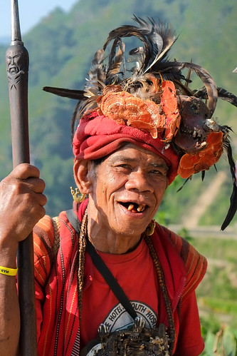 A joker. Banaue viewpoint